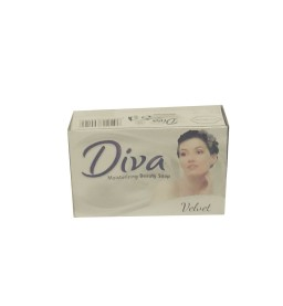 DIVA Beauty Soap 75g - Pink - Blue - White - yellow